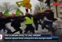 PKK'lılardan İsveç vatandaşına linç girişimi