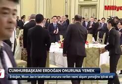 Cumhurbaşkanı Erdoğan onuruna yemek