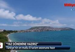 Türkiye'nin en mutlu ili turizm sezonuna hazır