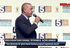 Cumhurbaşkanı Erdoğan İstanbulda duyurdu