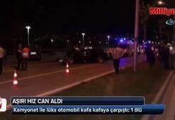 Aşırı hız Bursada can aldı:1 ölü, 3 yaralı