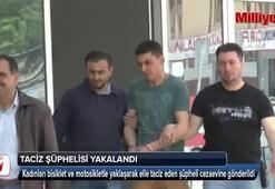 Konyada taciz olaylarının şüphelisi tutuklandı