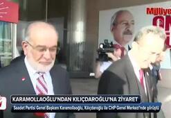 Karamollaoğlu, Kılıçdaroğlunu ziyaret etti