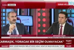 Adalet Bakanı Abdülhamit Gül, oy pusulasını tanıttı