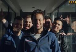 Neymar ve arkadaşlarından renkli görüntüler...