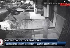 Polisten, hırsızlık şebekesine kaz operasyonu