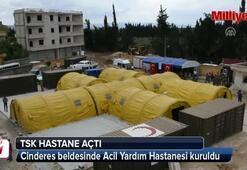 TSKdan Afrinlilere acil yardım hastanesi