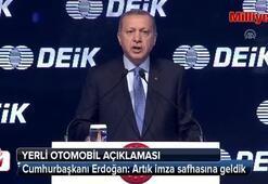 Cumhurbaşkanı Erdoğandan yerli otomobil açıklaması
