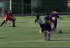 Barcelonanın yeni yeteneği Xavi Simons