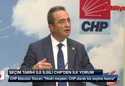 CHPden 24 Hazirandaki erken seçim kararına ilk tepki