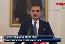 Türkiyeden ABye tarihi rest