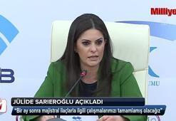 Jülide Sarıeroğlu açıkadı