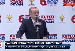 Erdoğandan operasyona ilk yorum