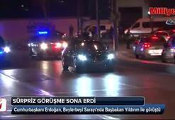 Cumhurbaşkanı Erdoğan, İstanbulda Başbakan Yıldırım ile görüştü