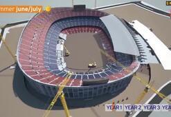 İşte yeni Nou Camp