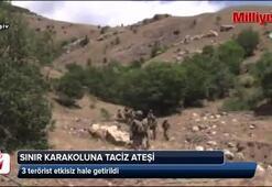 PKKlıların saldırısına anında karşılık verildi