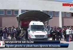 Öğretim görevlisi ve yüksek lisans öğrencisi ölü bulundu