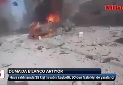 Duma'da bilanço artıyor: 35 ölü
