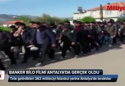 Banker Bilo filmi Antalya'da gerçek oldu