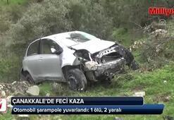 Çanakkalede feci kaza