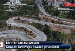 Konyaaltı Sahil Projesi'nde ilk etap tamamlanıyor