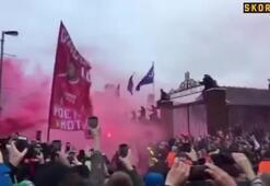 Liverpool taraftarlarından şok saldırı