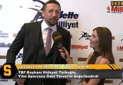 Hidayet Türkoğlu: Ödül alan herkesi kutluyorum