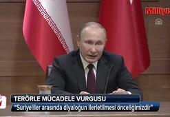 Putinden terörle mücadele vurgusu