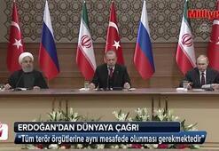 Cumhurbaşkanı Erdoğandan dünyaya çağrı