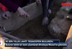 Aydında 2 bin yıllık lahit tesadüfen bulundu