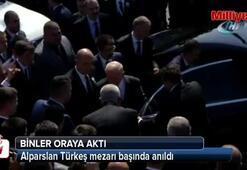 Alparslan Türkeş, ölümünün 21. yılında mezarı başında anıldı