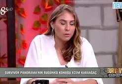 Ecem Karaağaç Survivora vedasının ardından ilk kez konuştu
