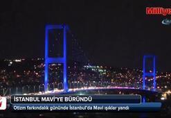 Bu gece İstanbul... Gören hayran kaldı