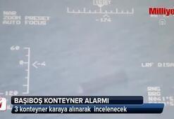 Karadenizde başıboş konteyner alarmı