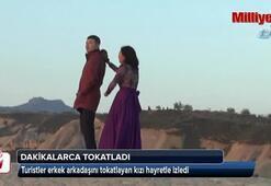 Kırgız kadın şiddeti kamerada
