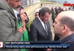 """Törende Kürtçe ağıtlar yakan şehit korucunun eşi, """"Şehitler ölmez"""" dedi"""