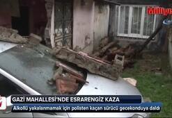 Gazi Mahallesi'nde esrarengiz kaza
