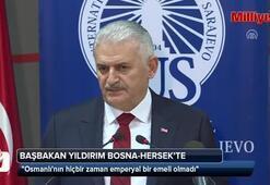 Başbakan Yıldırımdan Bosna Hersekte önemli açıklamalar