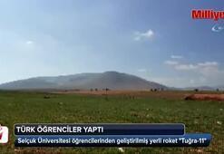 Türk öğrenciler yaptı Tuğra-11 yola çıktı
