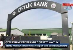 Çiftlikbank soruşturması kapsamında 3 şirkete kayyum atandı