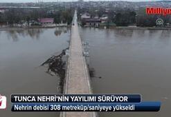 Tunca Nehrinin yayılımı sürüyor