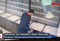 Ankarada suç makinesi 3 hırsız yakalandı