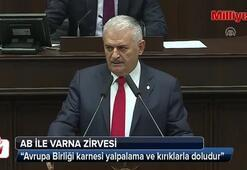 Başbakan Binali Yıldırımdan Varnadaki AB zirvesi ile ilgili flaş sözler