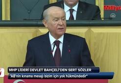 MHP Lideri Bahçeliden AB ve Çiprasa sert sözler