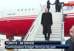 Cumhurbaşkanı Erdoğan Varna'da