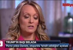 Porno yıldızı Daniels, otoparkta tehdit edildiğini açıkladı