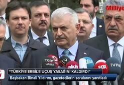 Başbakan Yıldırım: Türkiye, Erbile uçuş yasağını kaldırdı