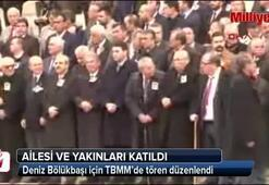 Ahmet Deniz Bölükbaşı için TBMMde tören düzenlendi