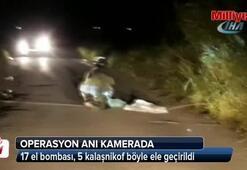 17 el bombası, 5 kalaşnikof böyle ele geçirildi