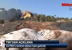 23 PKK'lı terörist etkisiz hale getirildi